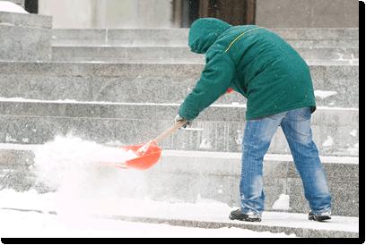 sidewalk shoveling services Denver Colorado